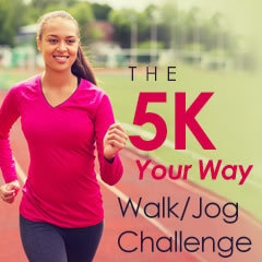 The 5k Your Way Walk/Jog Challenge