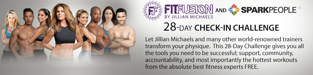 The FitFusion & SparkPeople 28-Day Check-In Challenge