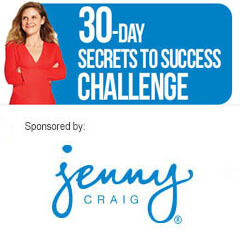 Jenny Craig 30-Day Secrets to Success Challenge
