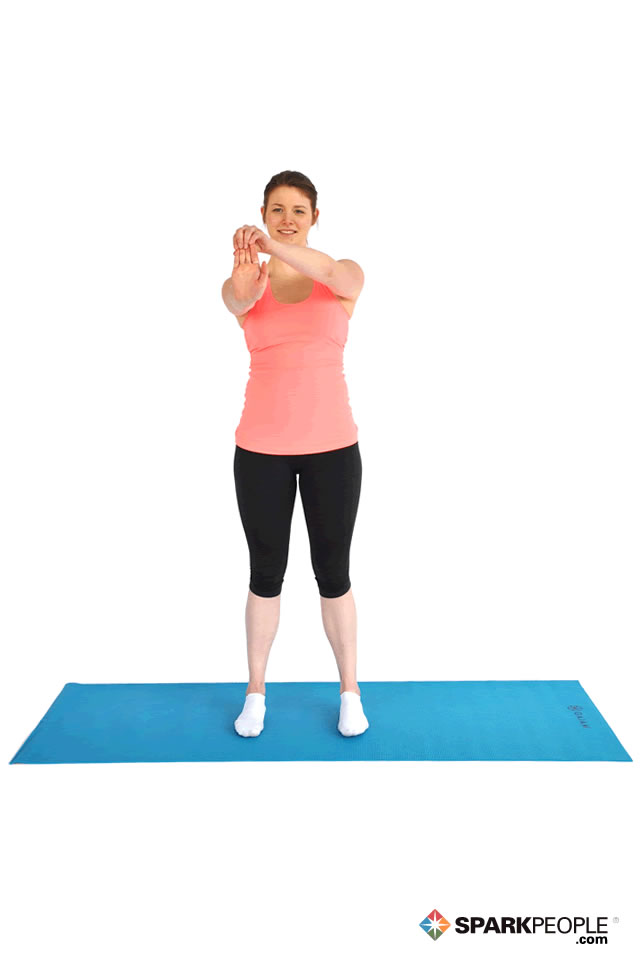 Standing Wrist/Forearm Stretch Exercise