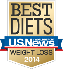 Named one of the 'Best Diets' by US News