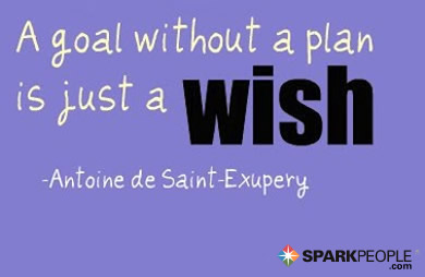 Motivational Quote - A goal without a plan is just a wish.