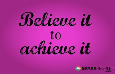 Motivational Quote - Believe it to achieve it.