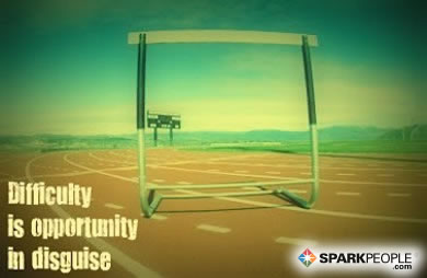 Motivational Quote - Difficulty is an opportunity in disguise.