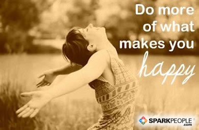 Motivational Quote - Do more of what makes you happy