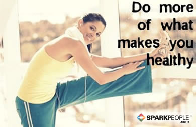 Motivational Quote - Do more of what makes you healthy