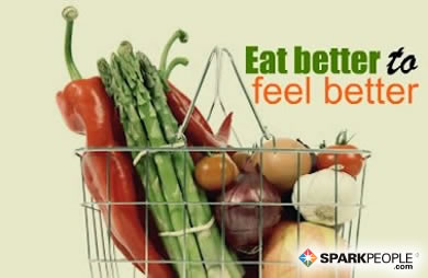 Motivational Quote - Eat better to feel better.