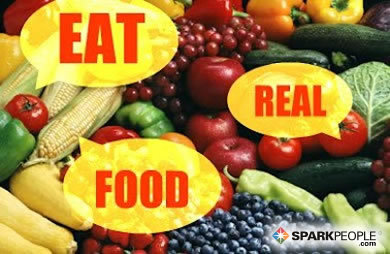 Motivational Quote - Eat real food
