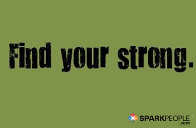 Motivational Quote - Find your strong.