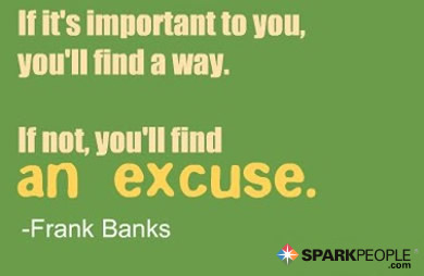 Motivational Quote - If it is important to you, you'll find a way. If not, you'll find an excuse.