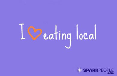 Motivational Quote - I <3 Eating Local