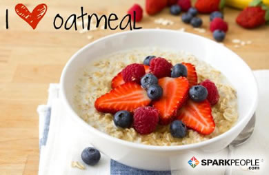 Motivational Quote - I <3 oatmeal