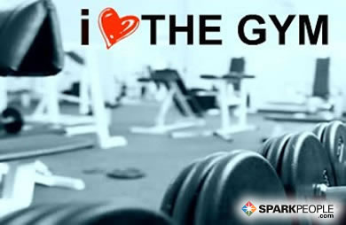 Motivational Quote - I <3 the gym