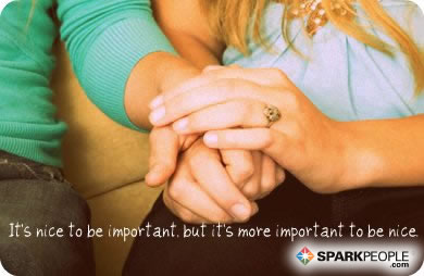 Motivational Quote - It's nice to be important, but it's more important to be nice.