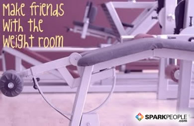 Motivational Quote - Make friends with the weight room.