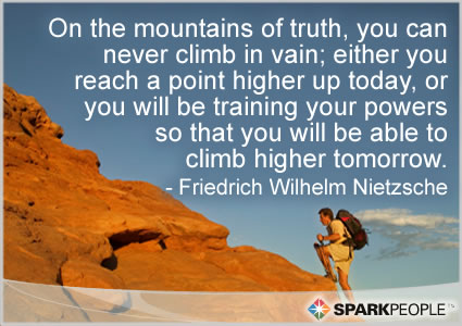 On The Mountains Of Truth You Can Never Climb In Vain Eith