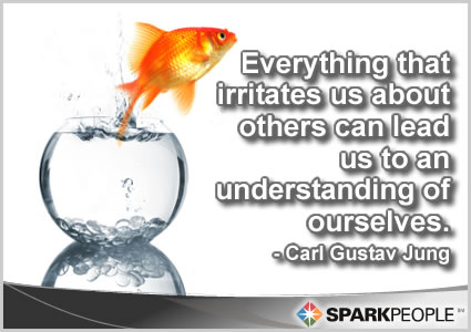 Motivational Quote - Everything that irritates us about others can lead us to an understanding of ourselves.