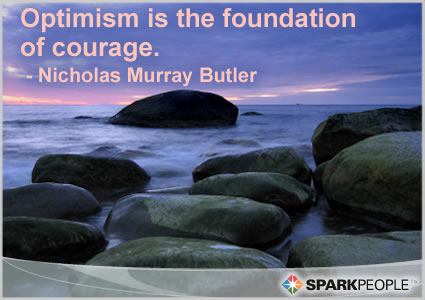 quotes about courage. Motivational Quote - Optimism
