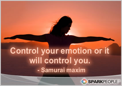Motivational Quote - Control your emotion or it will control you.