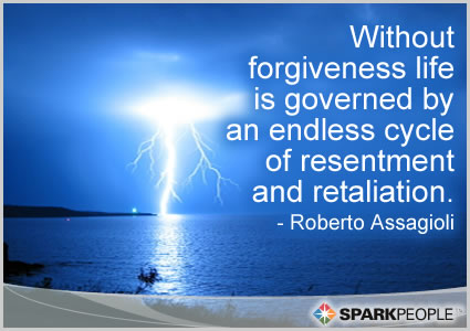 Motivational Quote - Without forgiveness life is governed by…an endless cycle of resentment and retaliation.