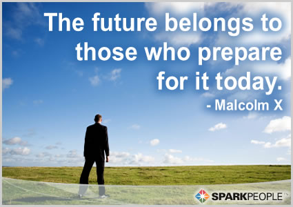 Motivational Quote - The future belongs to those who prepare for it today.