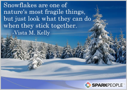 Snowflakes are one of nature's most fragile things, but ...