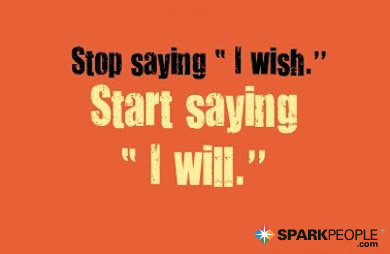 Motivational Quote - Stop saying
