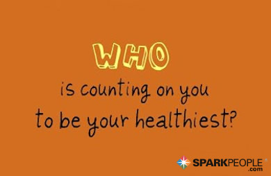 Motivational Quote - Who is counting on you to be your healthiest?