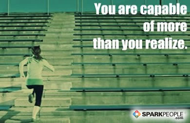 Motivational Quote - You are capable of more than you realize