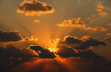Destress yourself!  Clouds_sunset
