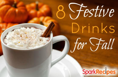 8 Fun Amp Festive Fall Drinks Slideshow Sparkrecipes