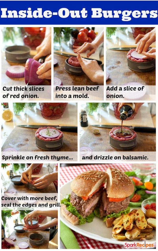 How to make inside out cheeseburgers - South beach phase ...