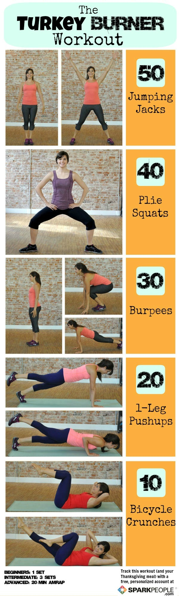 Torch calories with the turkey burner workout sparkpeople