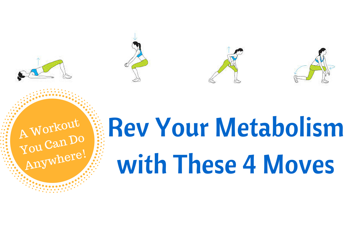 4 Easy Moves That Rev Your Metabolism