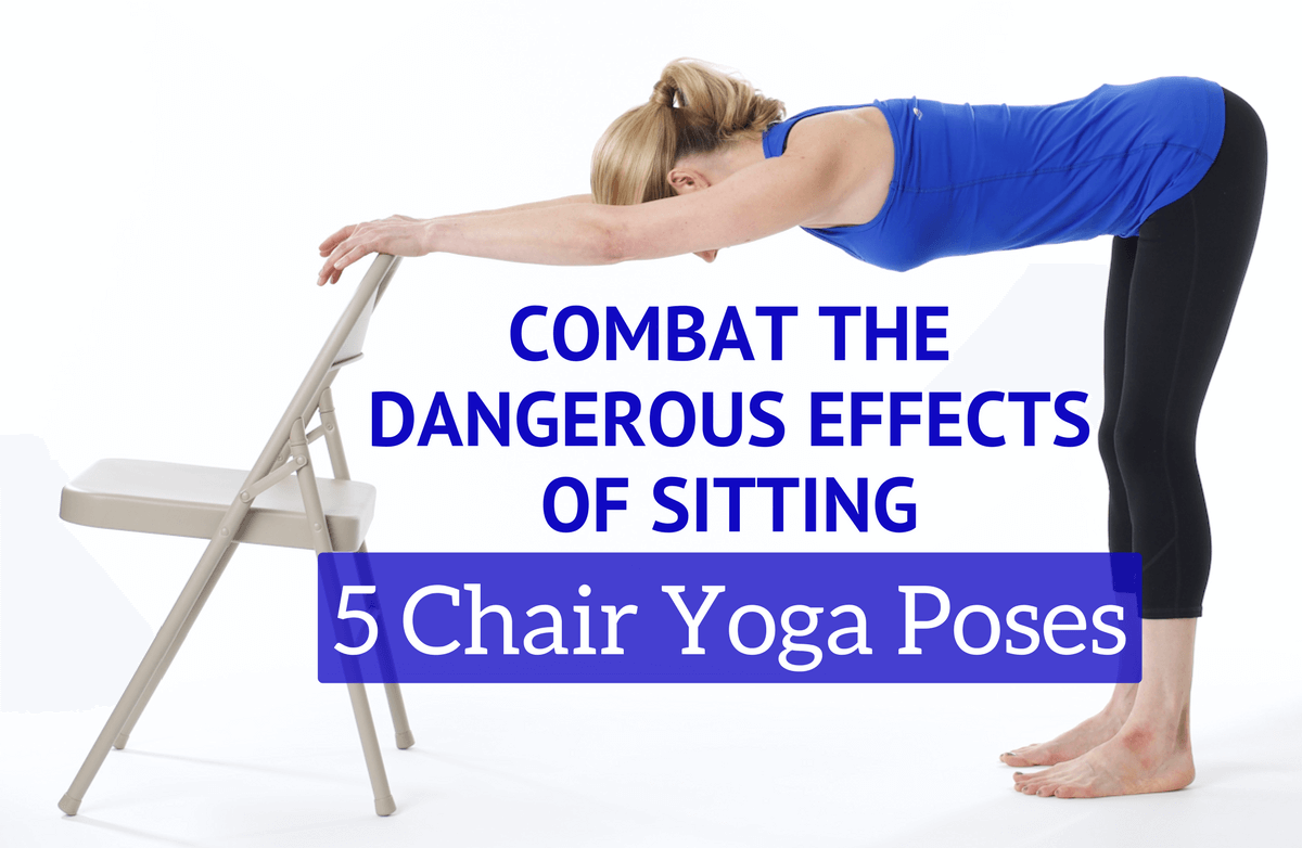Chair Yoga Poses For Office Workers