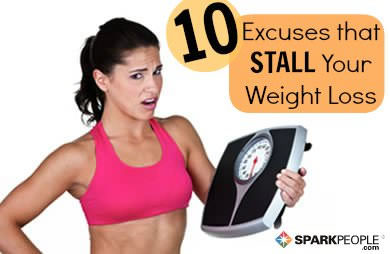 10 Little Excuses That Prevent Weight Loss