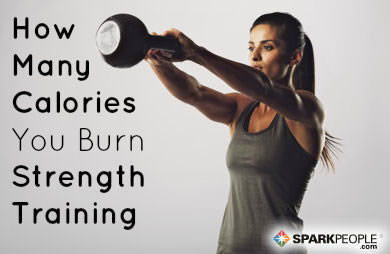 How Many Calories Does Strength Training Really Burn Sparkpeople