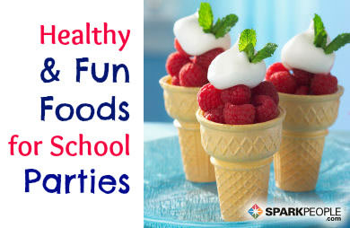 Healthy (Fun) Foods for Classroom Parties | SparkPeople