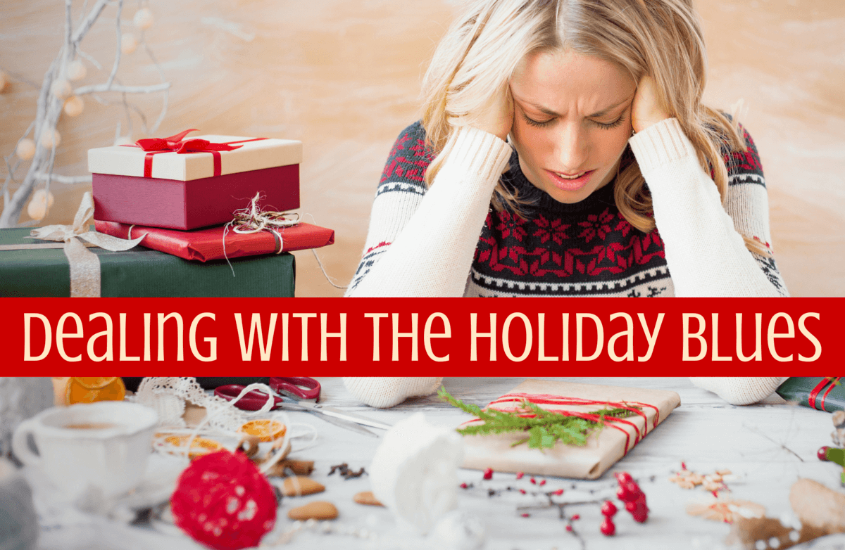 "holiday blues If you have a loved one who's suffering, ""happy holidays can feel  christmas  blues: four mistakes we make when comforting friends who are."