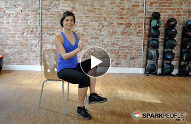 12-Minute Seated Core Workout Video | SparkPeople