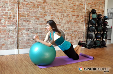 5 Minute Core Workout With Ball