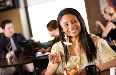 African-American women must eat less or exercise more to lose as much weight as caucasians