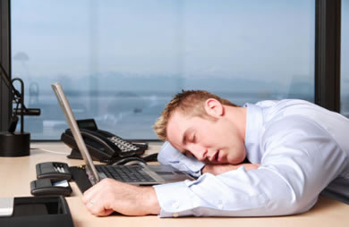 Tired Person At Work Are You a Workaholic? ...