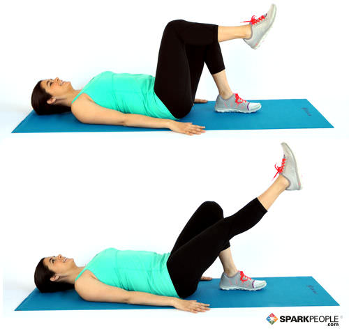 Diary of a fit mommy6 exercises to rebuild your core after for Floor ab workouts