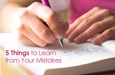 Learning From Mistakes Clip Art