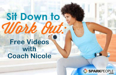 11 Minute Chair Cardio Workout Video Sparkpeople