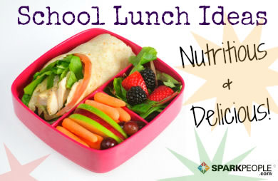 Healthy school lunch for weight loss of