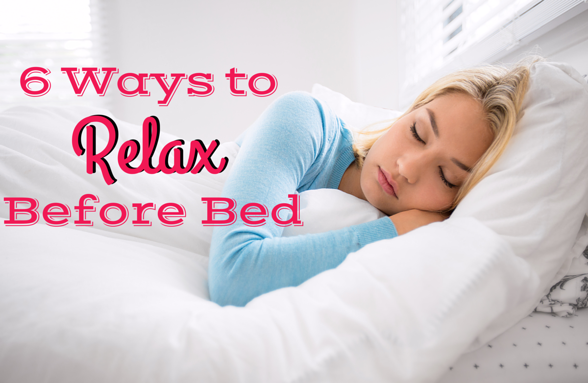 6 ways to relax before bed