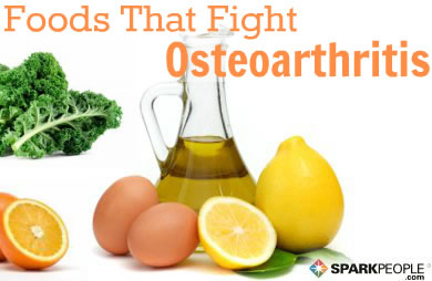 Foods for osteoarthritis