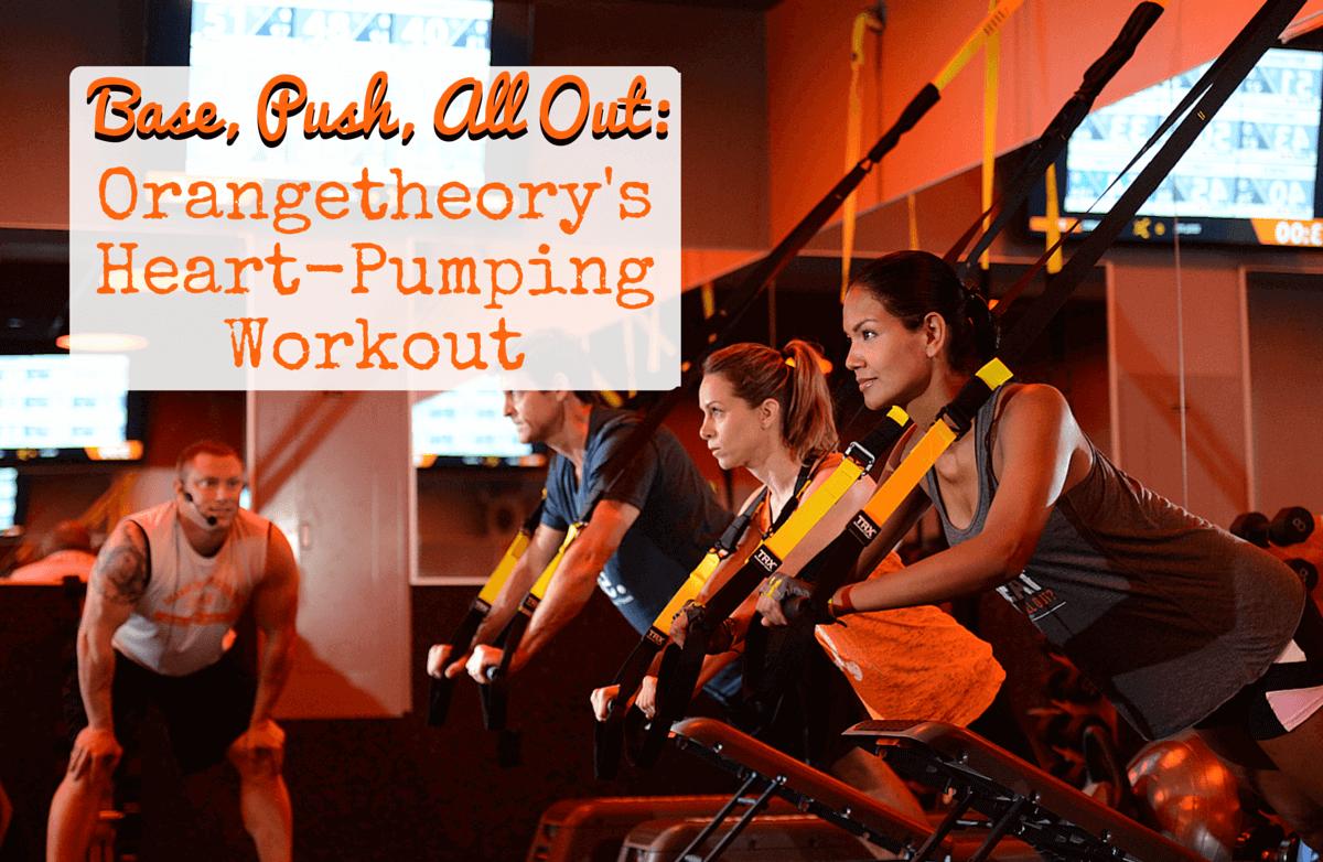 basking in the orange glow of orangetheory fitness